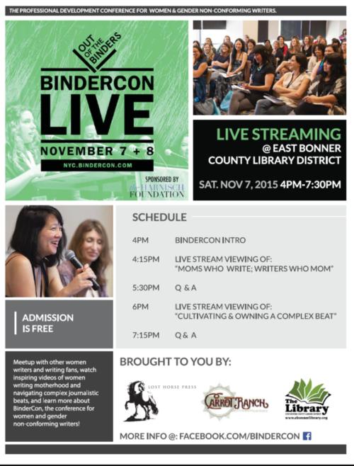 BinderCon Flyer