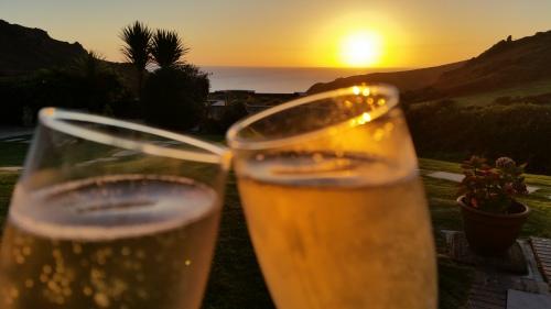 First Draft Celebration Devon Coastline by S. Matthews