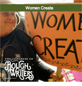 Women Create by the Rough Writers & Friends at Carrot Ranch @Charli_MIlls