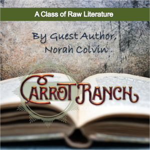Raw Literature by Norah Colvon @Norah Colvin @readilearn
